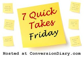 7 quick takes